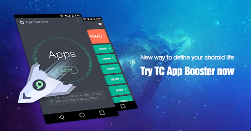 TC App Booster Clean Speed Up