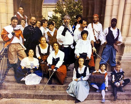 Escrime de spectacle : La Botte de Cyrano 2014, Bergerac.