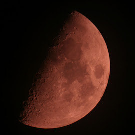 Moon 6 by Andrej Špan - Landscapes Starscapes ( astro foto )