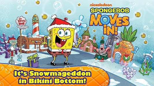 SpongeBob Moves In v4.35.00 (Cheat Menu)