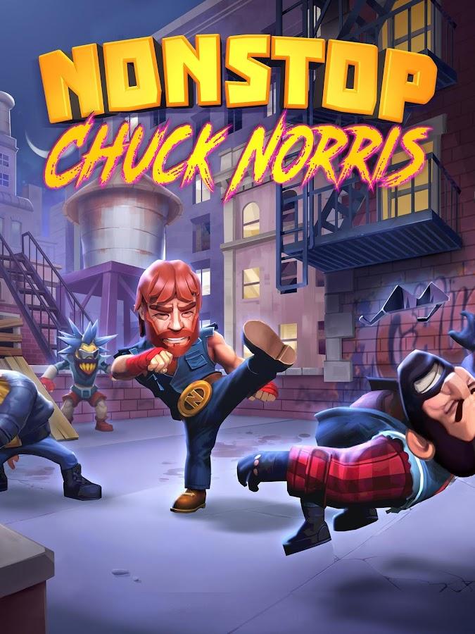 Screenshots of Nonstop Chuck Norris for iPhone