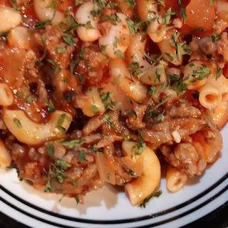 Sausage Pasta Fazool.
