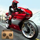 Frozen Highway Bike Rider VR icon