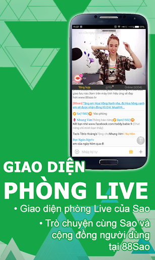 88Sao.TV - Live Video Streaming 1.1.1 screenshots 2