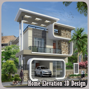 Home Elevation 3D Design - náhled