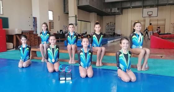 La Salle logra el sobresaliente de Andalucía en gimnasia artística