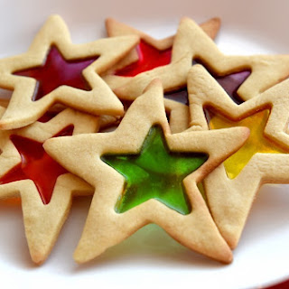 Stained-Glass Cookies.