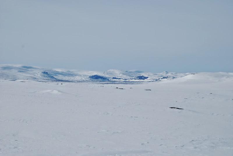 Photo: Porojärven laakso Spahkoaivin rinteiltä
