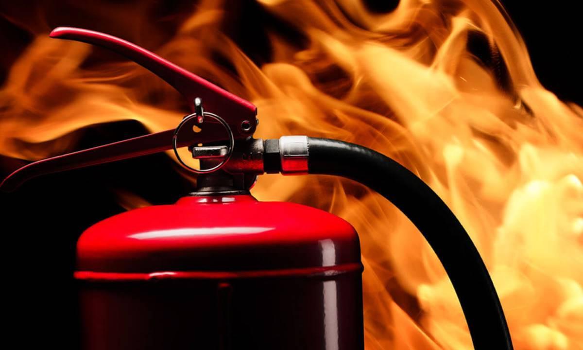 Как работают огнетушители