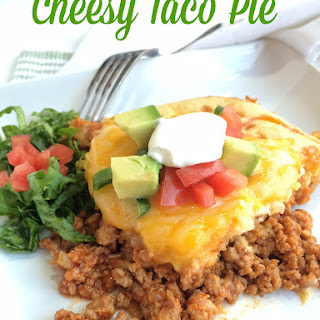 Cheesy Taco Pie
