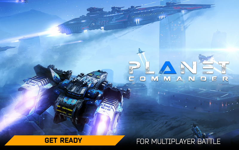 Planet Commander Online: Space ships galaxy game Screenshot 18