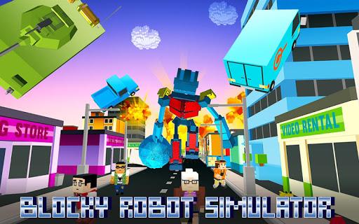 Blocky Robot Smash 1.0 screenshots 1