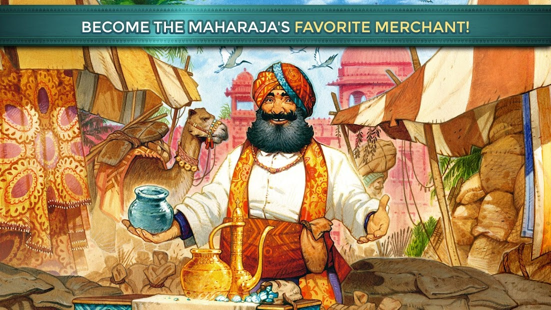 Jaipur: A Card Game of Duels Android App Screenshot