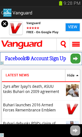 android Linda Ikeji and Nigerian News Screenshot 2