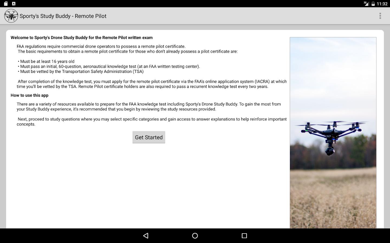 Remote pilot drone test prep android apps on google play remote pilot drone test prep screenshot xflitez Images