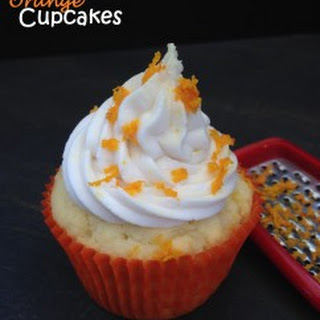 Dreamy Orange Cupcakes – Gluten-Free, Dairy-Free (9 Ingredients)