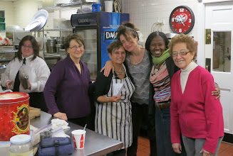 Photo: The kitchen crew before they got real busy!