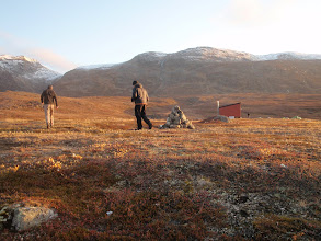 Photo: Greenland - Hut at the end of Day 7
