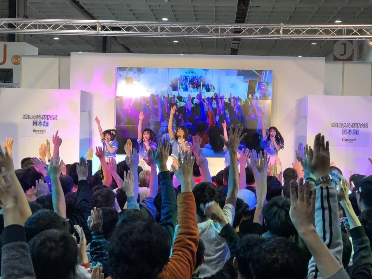 【迷迷現場】2019動漫 ICHIBAN JAPAN日本館 少女歌劇聲優挾高人氣開戰日本館  「彩虹征服者(Nijicon)」女王歸來 粉絲應援喊  到燒聲