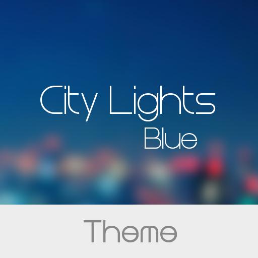 City Light Blue Theme