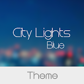City Light Blue Theme