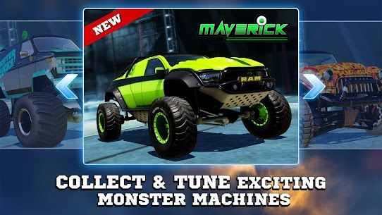 Monster Trucks Racing 2020 – 3.4.256 MOD APK (FULLY MODDED) 4