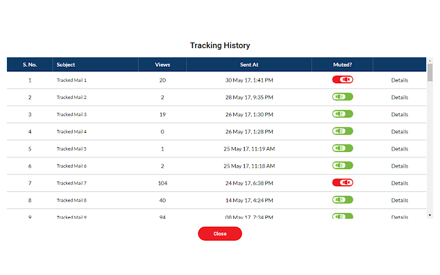 Zoho mail tracker by crazy ripples chrome web store stopboris Gallery