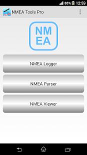 NMEA Tools Pro - náhled