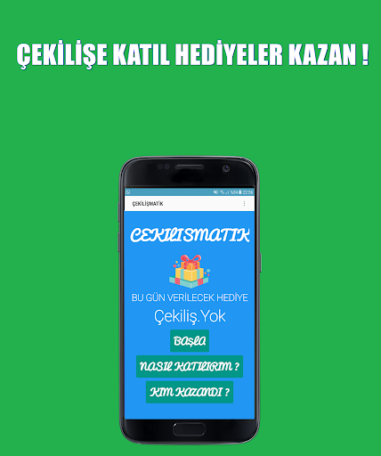 ÇekilişMatik - Hediye Kazan app (apk) free download for Android/PC/Windows screenshot