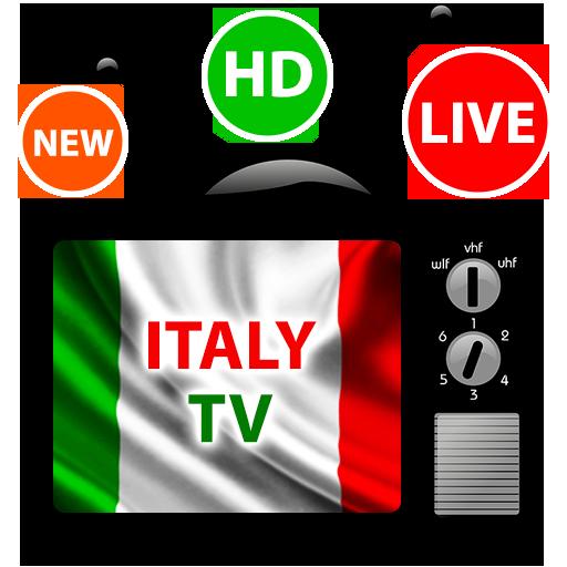 Italy TV Live - Watch Italia Tv Online Icon