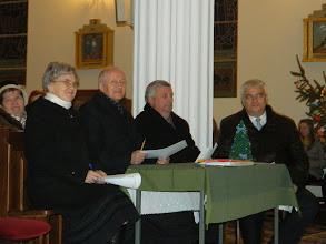 Photo: Jury konkursu: od lewej s. Wiesława Kuliś, Ks. Proboszcz Kazimierz Chełstowski, Pan Tadeusz Bendkowski i Pan Sławomir Adamiak - Wójt Gminy Kotuń