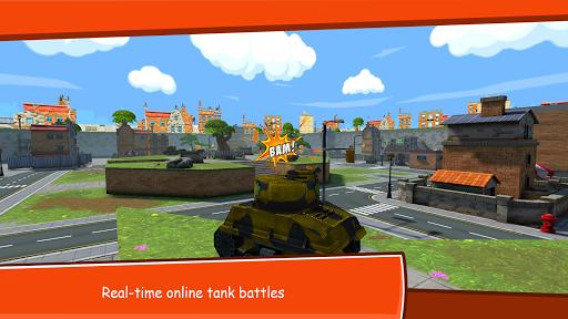 Toon Wars: Battle tanks online APK 2.54 screenshots 5