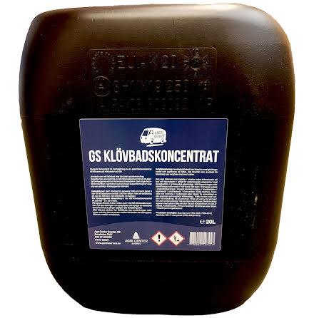 GS Klövbadskoncentrat 20 l.