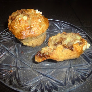 Whole Wheat, Banana, Maple Syrup and Chocolate Muffins