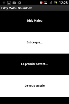 Eddy Malou Soundbox - screenshot