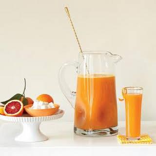 Blood Orange Mimosas.