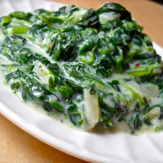 Creamed Spinach.