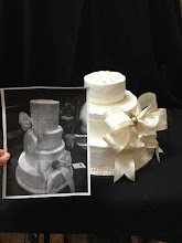 Photo: Send us a photo of your desired wedding cake design and we'll bring that vision to life in Italian whipped cream!