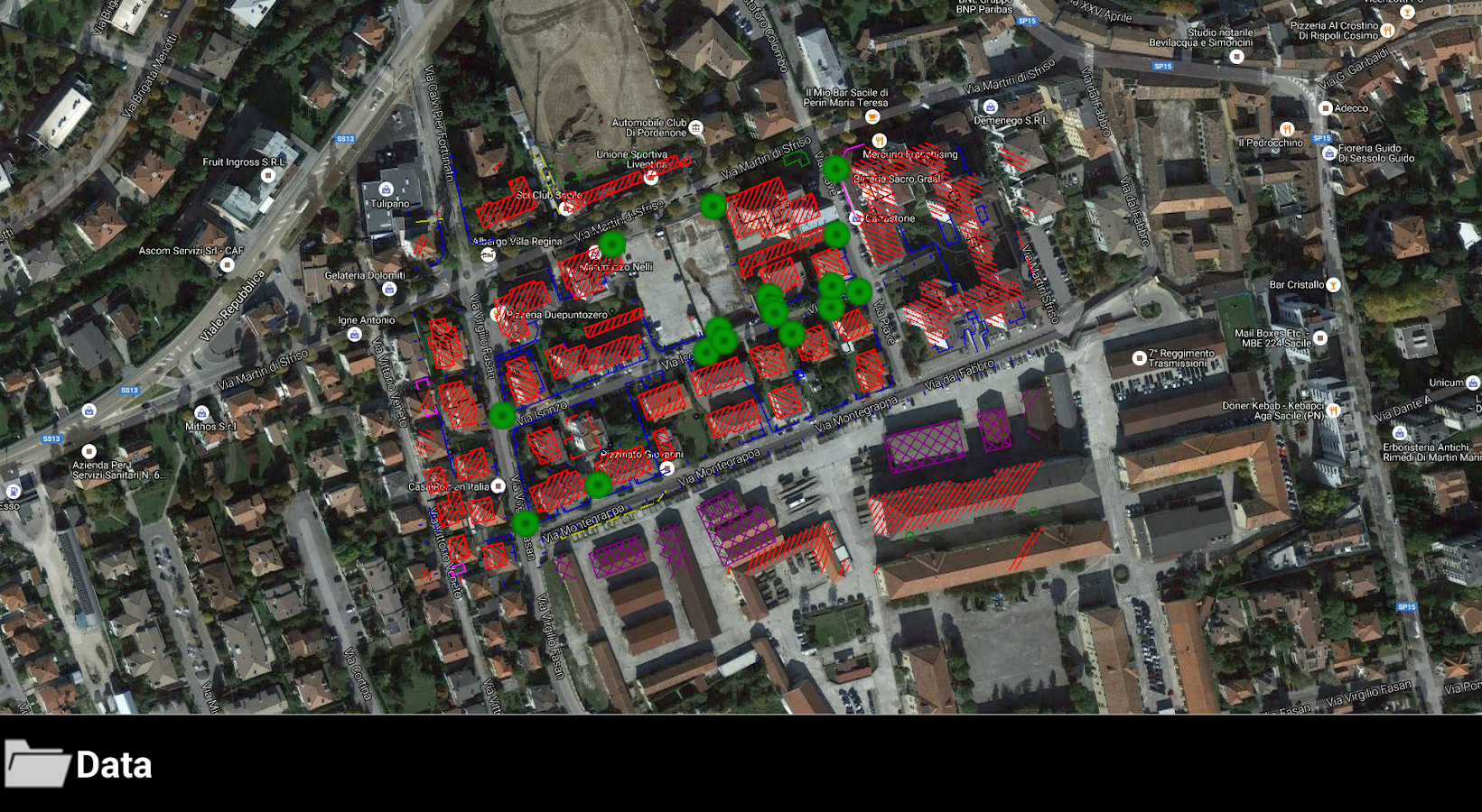 GeoMax X-PAD Survey Trial- screenshot