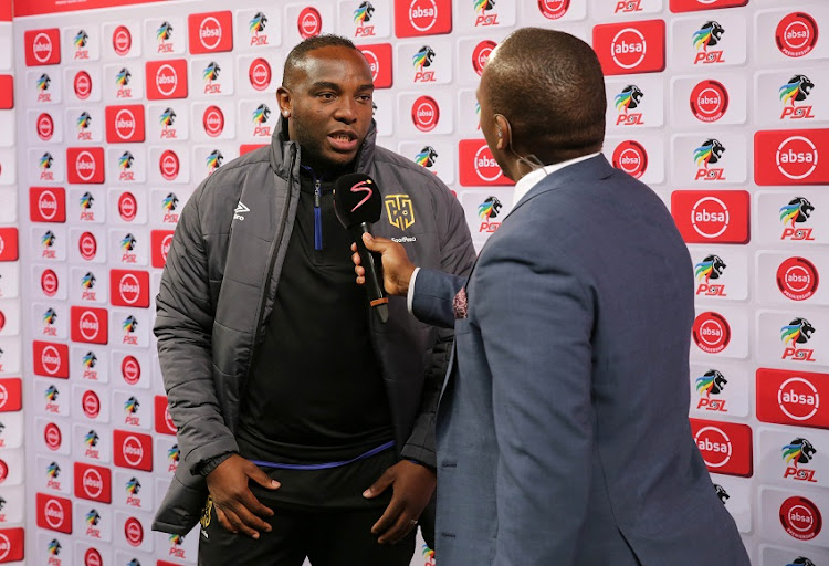 Benni McCarthy, Head Coach of Cape Town City during the Absa Premiership 2018/19 football match between Cape Town City FC and SuperSport United at Cape Town Stadium, Cape Town on 4 August 2018.