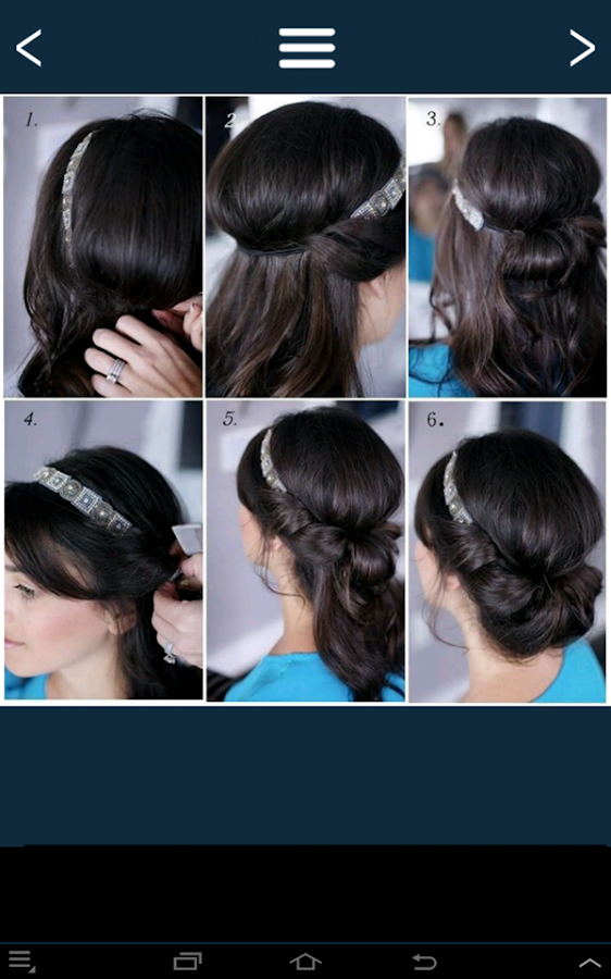 Easy Hairstyles Step By Step Android Apps On Google Play - Hairstyle design dikhaye