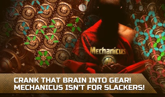 Mechanicus logic puzzle game for IQ- screenshot thumbnail
