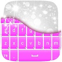 Pink Keyboard Stickers icon