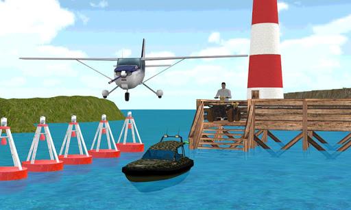 飛行機船クワッド道路の旅