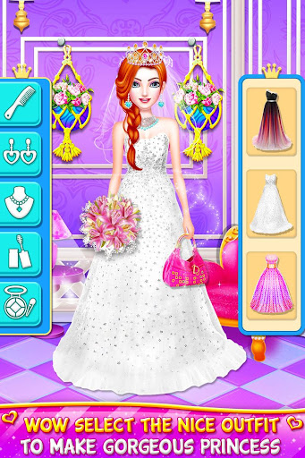 Princess Wedding Magic Makeup Salon Diary Part 1 screenshot 4