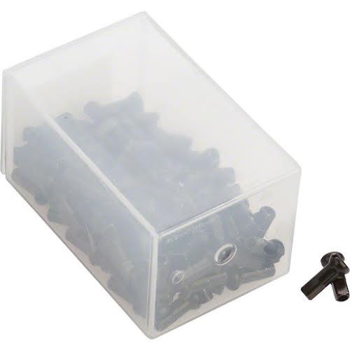DT Swiss Pro Head Brass Nipples: 2.0 x 14mm, Black, Box of 100