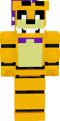 he is brother of spring bonnie and he jumpscares like the ucn