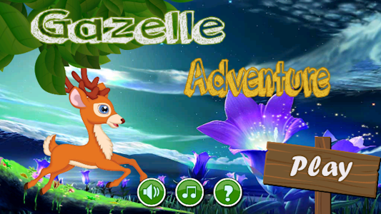 Gazelle Adventure screenshot 0