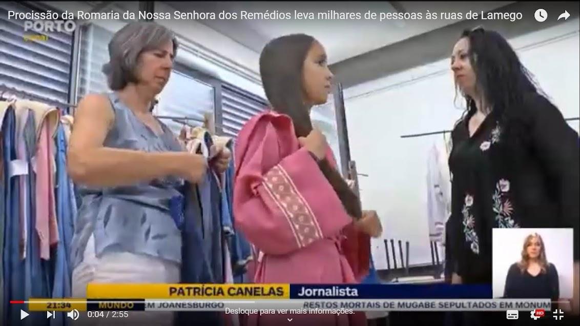 Vídeo - Procissão da Romaria da Nossa Senhora dos Remédios leva milhares de pessoas às ruas de Lamego