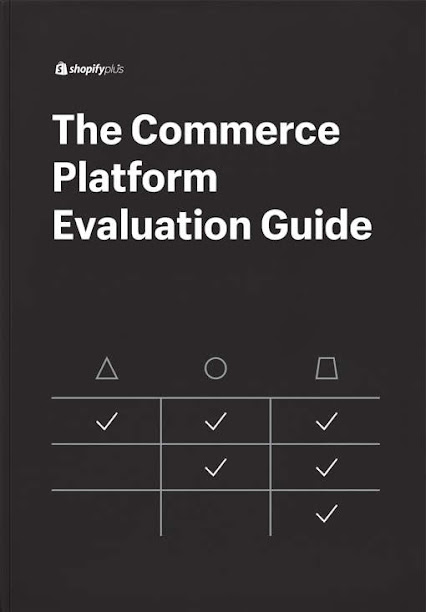 Considerations and Questions for Commerce Platform Evaluation. Source: Shopify